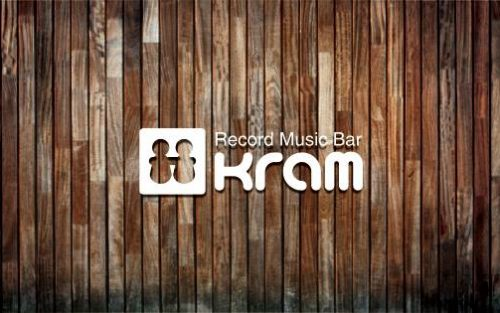 Record Music Bar 『kram』 ロゴデザイン